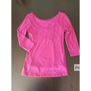 Ruby Ribbon Athletic top lined size small
